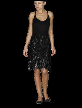 Emporio Armani Women's Dresses - Fall Winter - Emporio Armani Diamond Paillettes Dress - Official Online Store