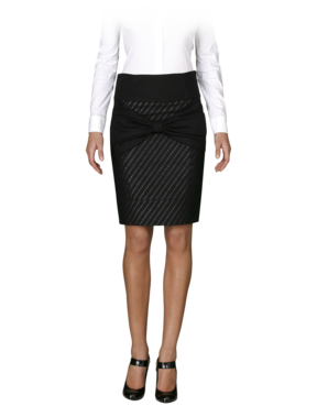 Emporio Armani Women's Skirts - Fall Winter - Emporio Armani Bow Pencil Skirt - Official Online Store