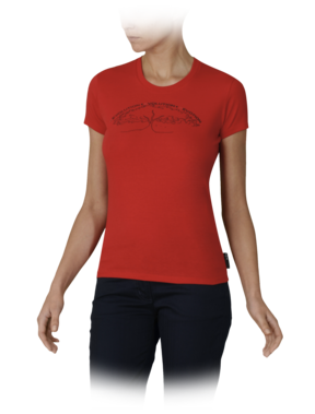 (PRODUCT) RED Julia Roberts T-shirt - Emporio Armani T-shirts - Official Online Store :  fashion red fall winter collection
