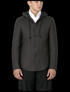 Armani Hoodie :  wool giorgio armani men jackets