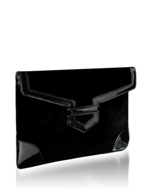 Emporio Armani Women's Handbags - Fall Winter - Emporio Armani Velvet Clutch - Official Online Store