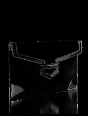 Emporio Armani Women's Handbags - Fall Winter - Emporio Armani Velvet Clutch - Official Online Store
