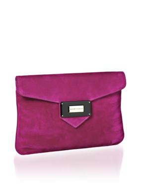 Emporio Armani Women's Handbags - Fall Winter - Emporio Armani Suede Clutch - Official Online Store